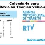 Calendario Revisión Técnica Vehicular Quito