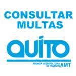 Consultar multas AMT Quito