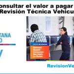 """""""Consultar valor a pagar por Revisión técnica Vehicular AMT"""