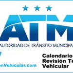 ATM Guayaquil Calendario revisión técnica vehicular