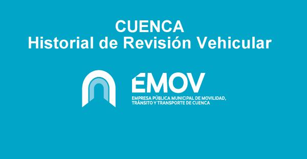 Emov Cuenca Consulta historial revisión vehicular